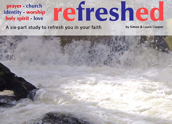 Refreshed (Study Book) - Simon Cooper & Laura Cooper