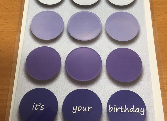 Birthday Circle Cards