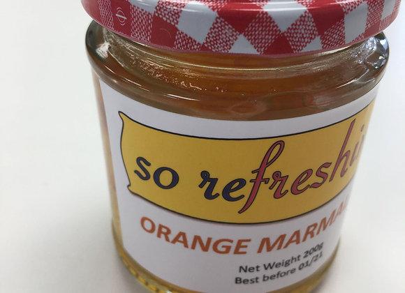 Orange Marmalade (8oz)