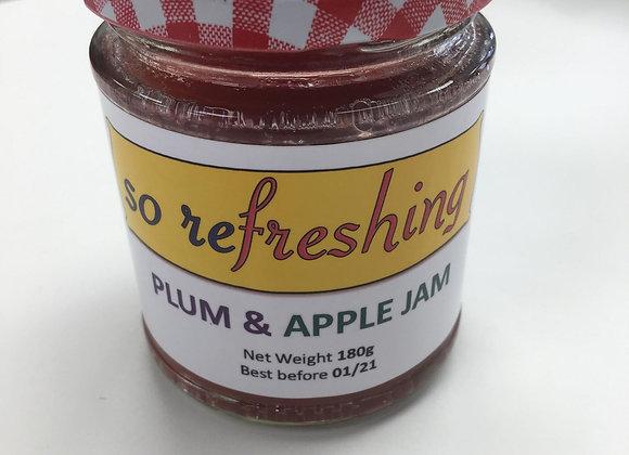 Plum & Apple Jam (8oz)