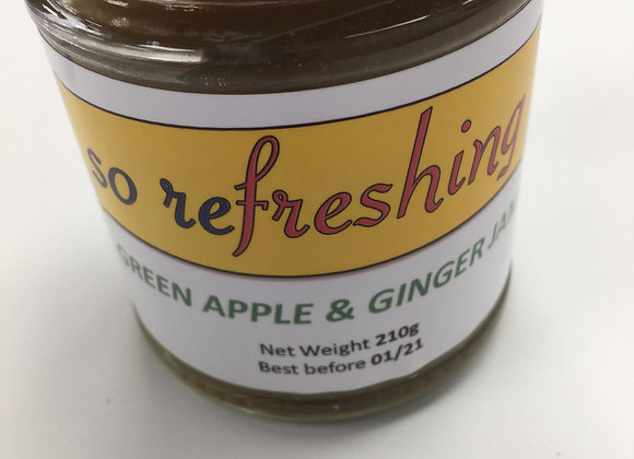 Green Apple & Ginger Jam (8oz)