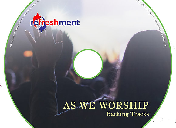 As We Worship - Backing Tracks