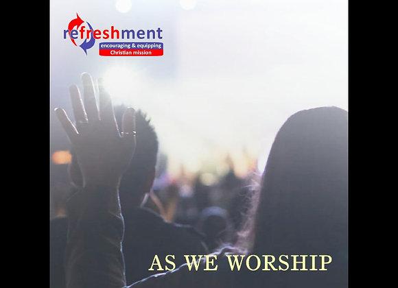 As We Worship - Backing Tracks