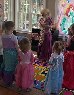 Have a Princess Party to bring in customers