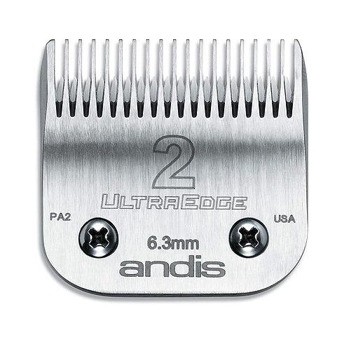 Andis Ultraedge Blade Size #2 Detachable Clipper Blade 64078