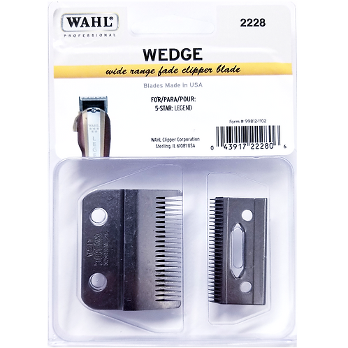Wahl Professional Wedge Wide Range Fade Clipper Blade for 5 Star Legend #2228