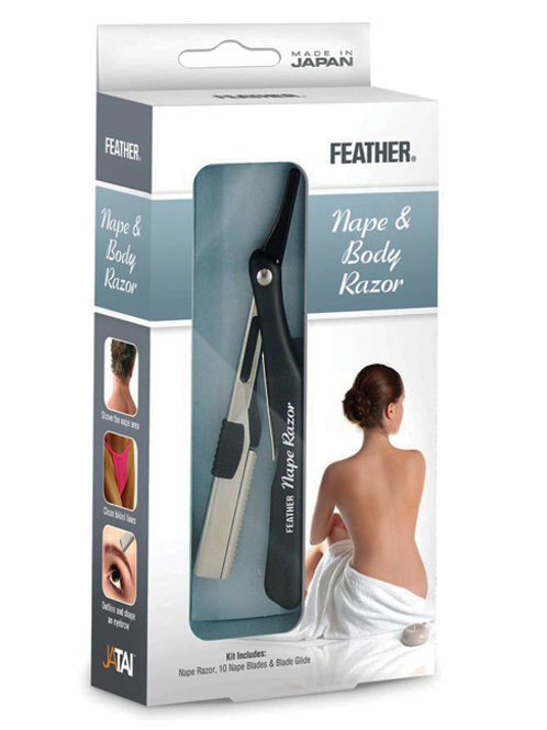 Jatai Feather Nape & Body Razor Kit, F1-80-500