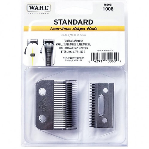 Wahl Professional 2 Hole Adjustable Clipper Blade #1006
