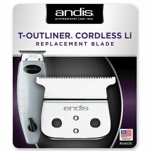 Andis Cordless Outliner ORL Replacement T Blade Assembly #04535