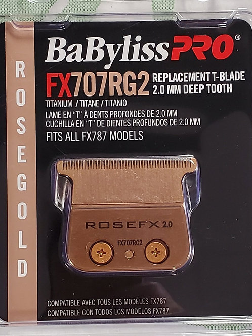 Babyliss Pro FX707RG2, 2.0 Deep tooth blade for FX787 Skeleton Trimmers
