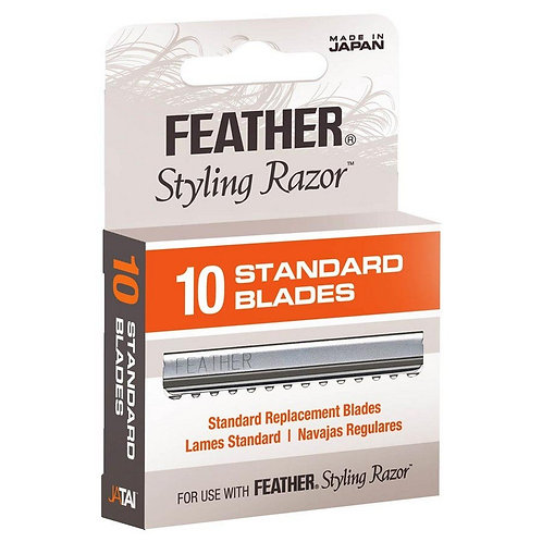 Jatai Feather Styling Razor Replacement Blades, 10 pack