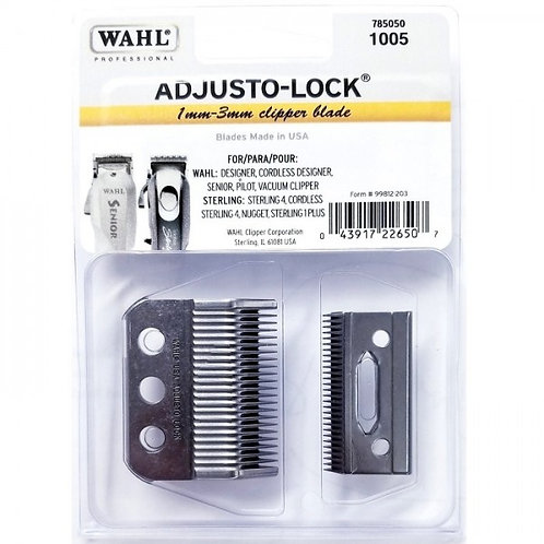 Wahl Professional Clipper Blade  3-Hole Adjusto-Lock #1005