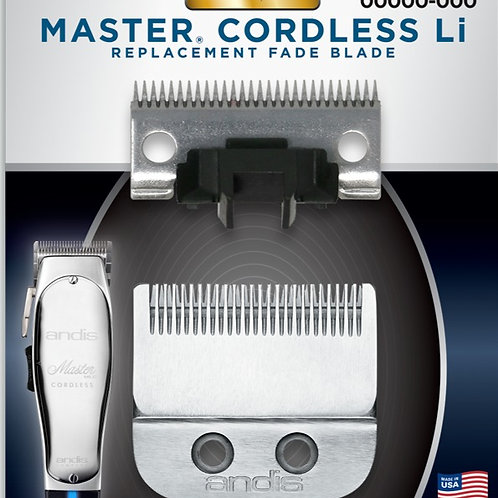 Andis MLC Cordless Master Li Replacement Clipper FADE Blade #74045