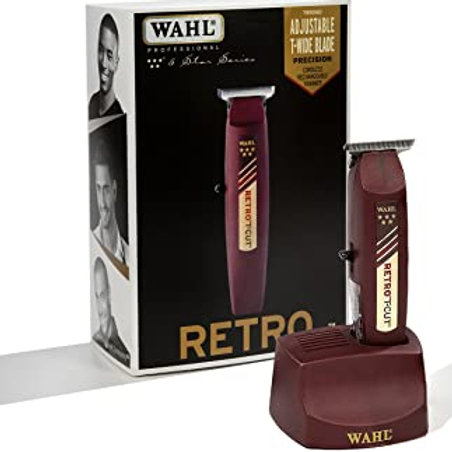 WAHL 5 STAR RETRO T-CUT CORDLESS RECHARGEABLE TRIMMER #8412