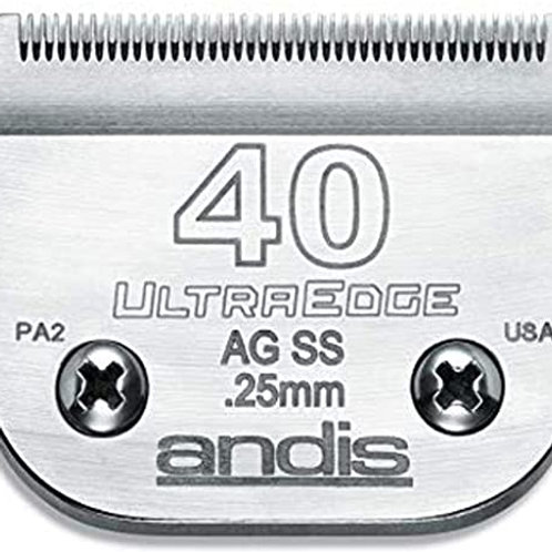 Andis  # 40SS UltraEdge Stainless Steel Blade # 64084