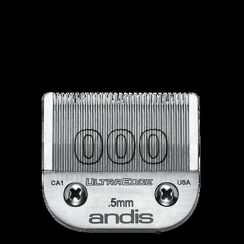 Andis UltraEdge Blades #000 Clipper Blade, # 64073
