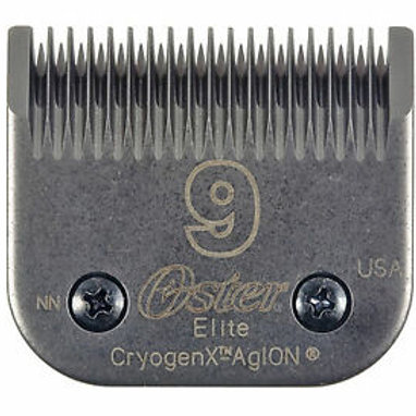 Oster Elite CryogenX Professional Animal Clipper Blade, Size # 9, 78919-626