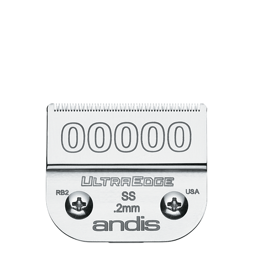 Andis UltraEdge Blades #00000 SS Clipper Blade, #64740