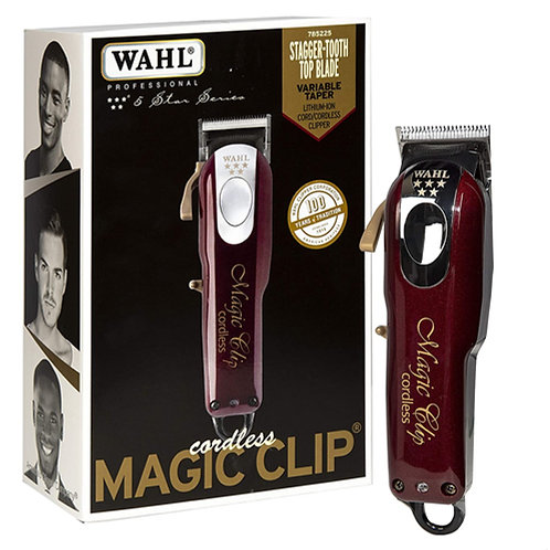 Wahl Professional 5 Star Li-Ion Cord/Cordless Magic Clip Clipper #8148