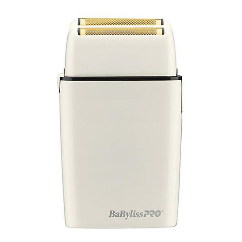 Babyliss FOIL FX02 Cord/Cordless Lithium ion Duel Gold Foil Shaver White