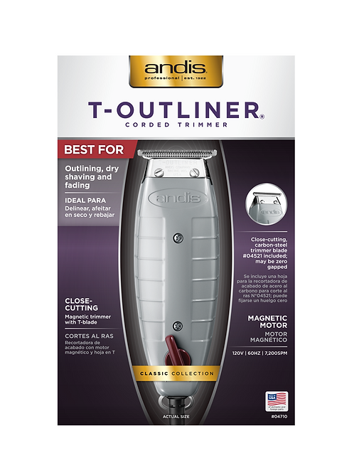 Andis Professional T-Outliner Trimmer # 04710