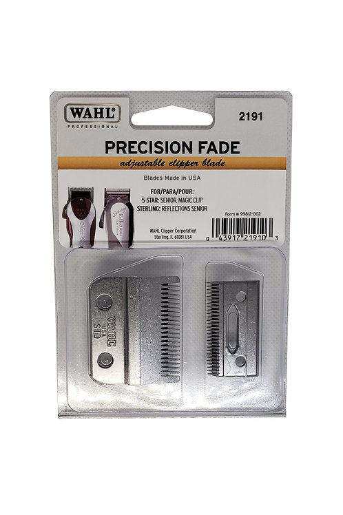 Wahl Professional 5 Star Clipper Blade, 000 Adjustable #2191