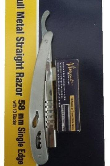 Vincent 58mm Full Metal Single Edge Razor VT302-1