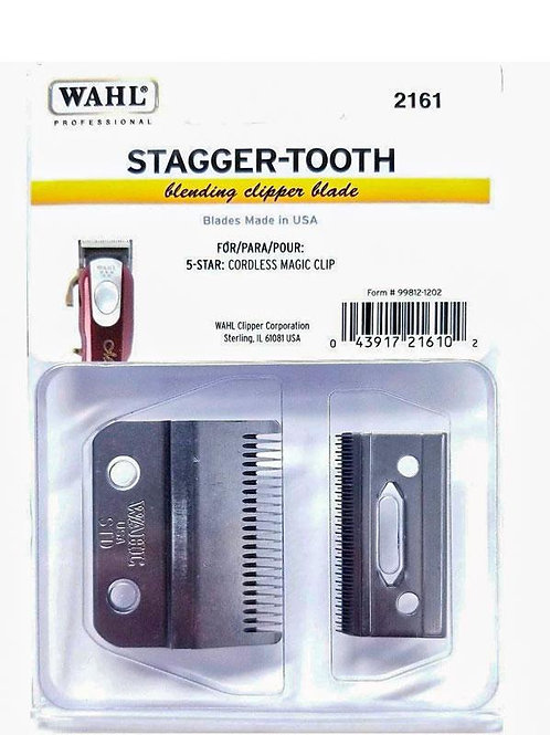 Wahl Professional 2 Hole Stagger Tooth Magic Clip Clipper Blade #2161