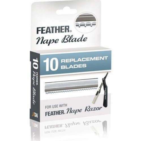 Feather Nape & Body Razor Blades 10 Pk.