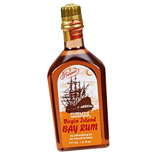 Pinaud Clubman Virgin Island Bay Rum, 6oz.,  #1085