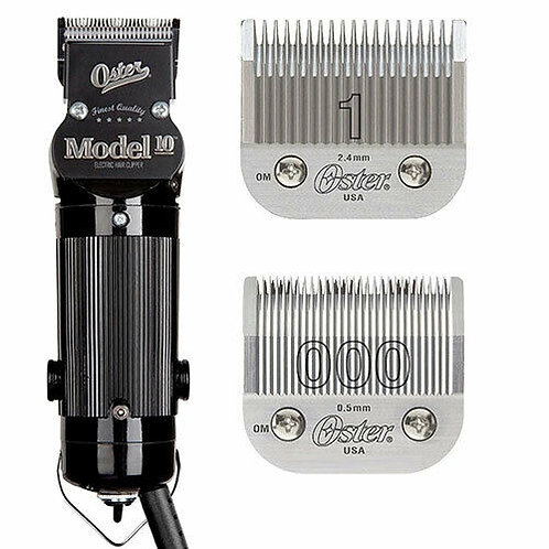 Oster Model 10 detachable Blade Clipper w/ 2  Blades 76010-010