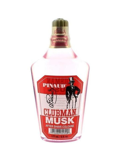 Clubman Musk After Shave Cologne, 6 oz #1022