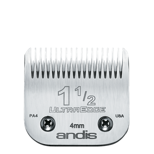 Andis UltraEdge Blades # 1.5 or # 1 1/2 Clipper Blade, # 64077