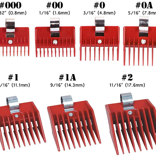 Speed O Guide Attachment Combs