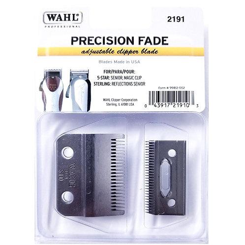 Wahl Professional 5 Star Precision Fade Clipper Blade, 000 Adjustable #2191