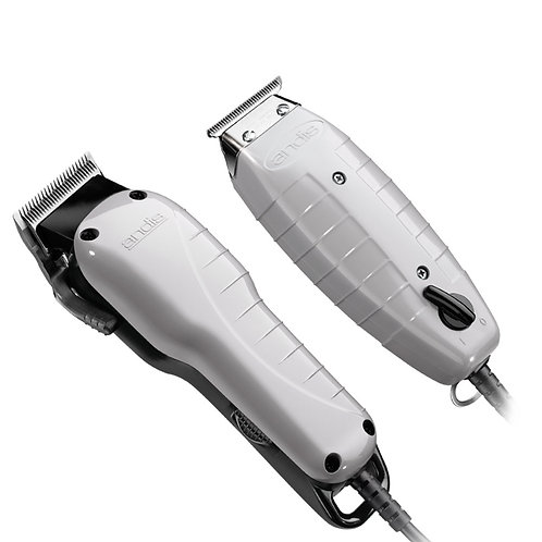 Andis Professional Barber Combo w/ T-Outliner Trimmer & Envy Clipper #66325