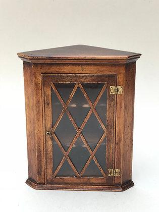Glazed Corner Cabinet