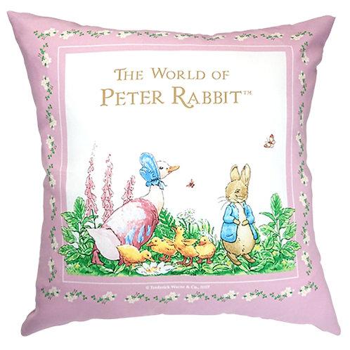 英國比得兔Peter Rabbit™ 比得兔與潔瑪鴨抱枕
