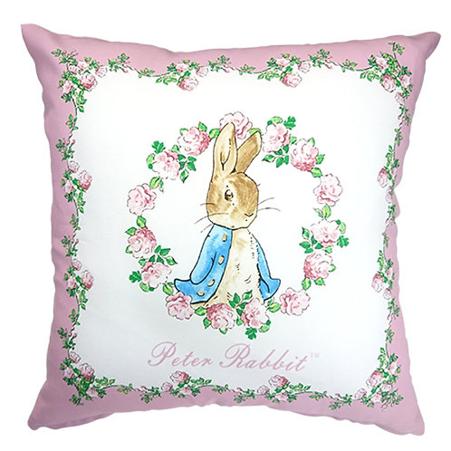 英國比得兔Peter Rabbit™ 玫瑰側兔抱枕