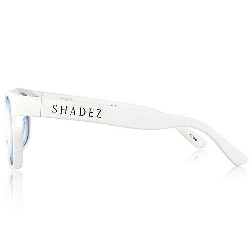 (免運) 瑞士Shadez兒童抗手機平板藍光眼鏡(白)