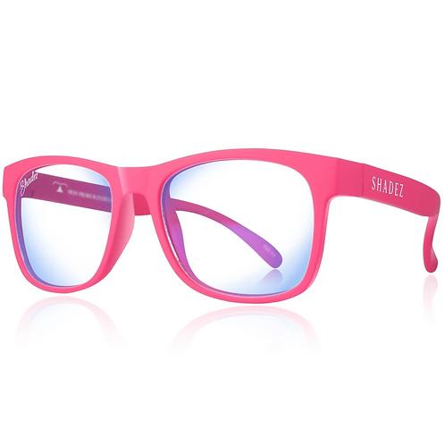 (免運) 瑞士Shadez兒童抗手機平板藍光眼鏡(粉紅)