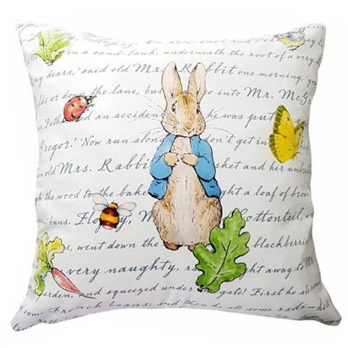 英國比得兔Peter Rabbit™ 雙面花色立兔抱枕