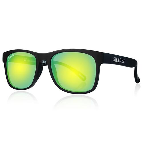 (免運)瑞士Shadez頂級偏光太陽眼鏡(兒童與大人款)(黑框湛藍) 的副本
