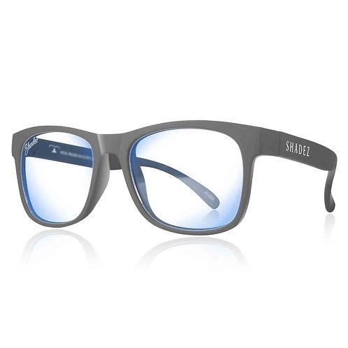 (免運) 瑞士Shadez兒童抗手機平板藍光眼鏡(灰)