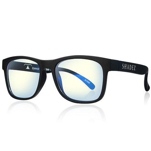 (免運) 瑞士Shadez兒童抗手機平板藍光眼鏡(黑)