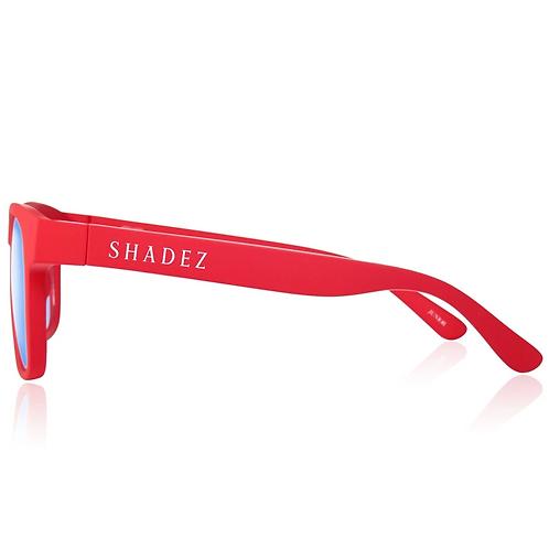 (免運) 瑞士Shadez兒童抗手機平板藍光眼鏡(紅)