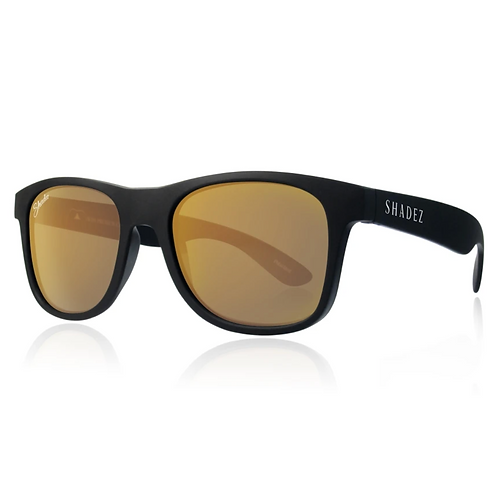 (免運)瑞士Shadez頂級偏光太陽眼鏡(大人限定款)(黑框霧金)