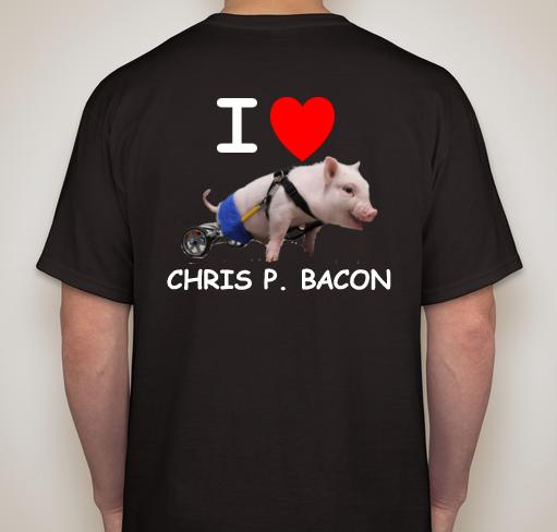I Love Chris P. Bacon T-Shirt