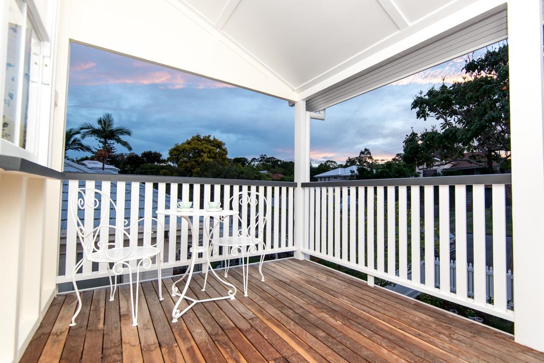 Front verandah of Queenslander