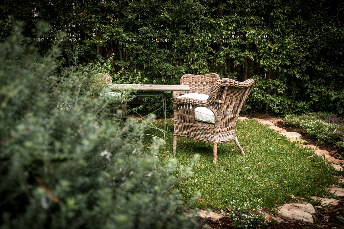 Backyard outdoor furniture